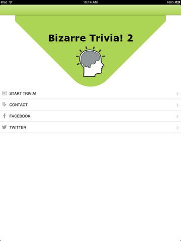 Bizarre Trivia! 2 HD (Ad Free) very funny trivia questions