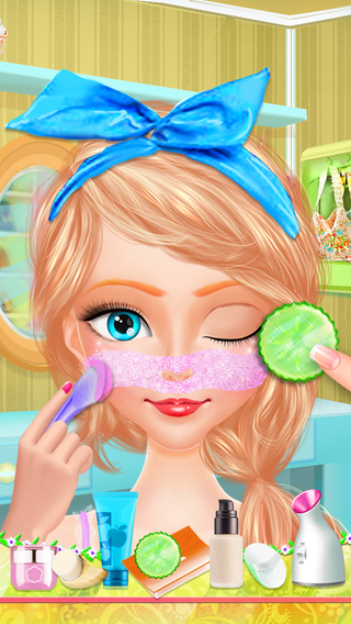 Nature Princess Eco Friendly Makeover Story - Spring Beauty Salon Game eco friendly wallpaper