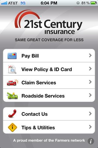 21st farmers auto insurance