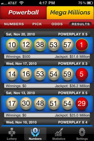 Lotto Pro - PowerBall & Mega Millions Lottery Results