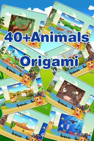 Art Of Origami preschool educational games for kids art games for kids