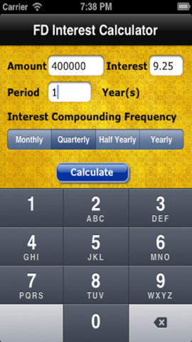 how to work out interest compounded half yearly