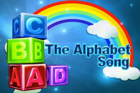 The ABC song - interactive children's sing along book : HD