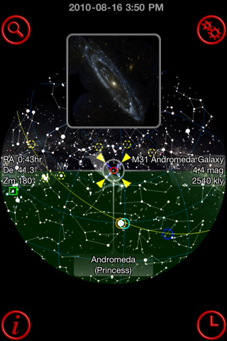 GoSkyWatch Planetarium - the astronomy star guide App for ...