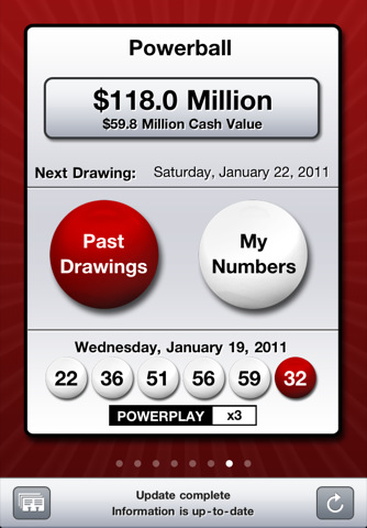 Powerball lottery results texas