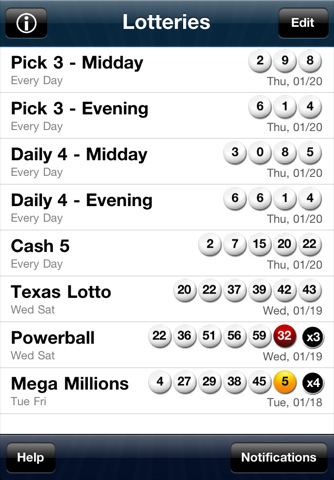 lotto texas lottery: