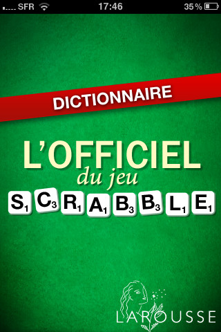 l officiel du scrabble dictionnaire reference assez pour. Black Bedroom Furniture Sets. Home Design Ideas