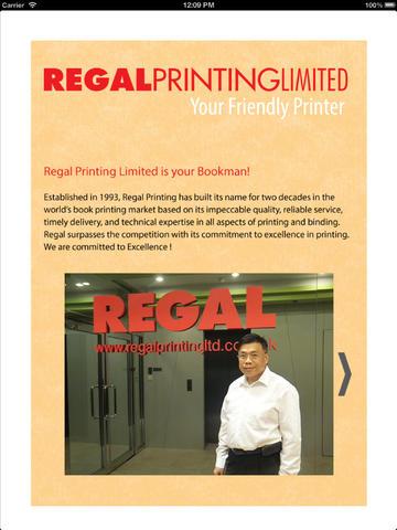 Regal Printing printing company