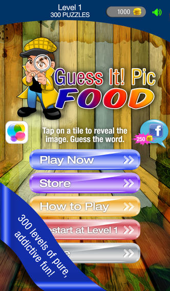 Guess It! Pic Food Free Trivia Word Game – Take the Food IQ quiz, reveal the close up food photo, guess what's the word, solve words with friends help! nicaraguan food