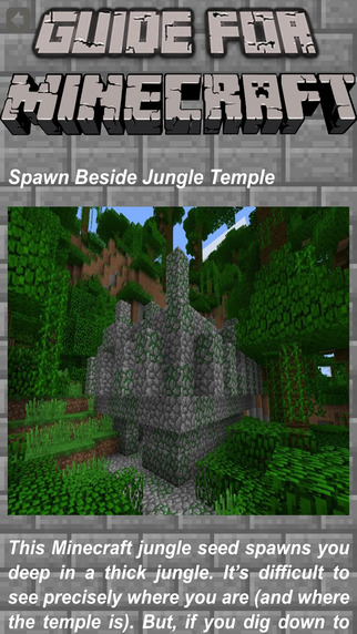 Seeds & Furniture for Minecraft - MCPedia Gamer Community!