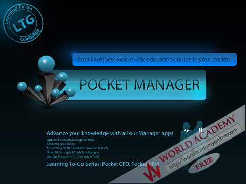 Small Business Guide - biz education course in your pocket! business education teks