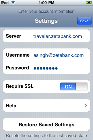 Ibm Lotus Notes Traveler Companion App For Ipad Iphone