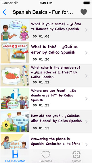 Spanish Courses: Learn Spanish by Videos spanish accents