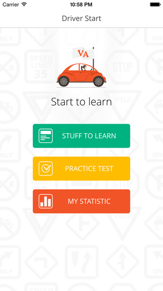 Virginia Driver Start - prepare for the Virginia DMV knowledge test, easy way to practice and get your VA Driver License christchurch school virginia