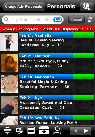 the  classifieds casual online dating