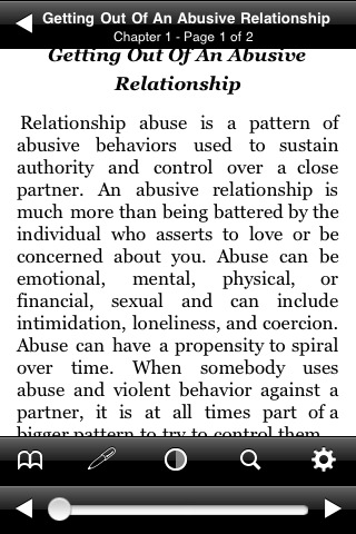 getting out and staying of an abusive relationship