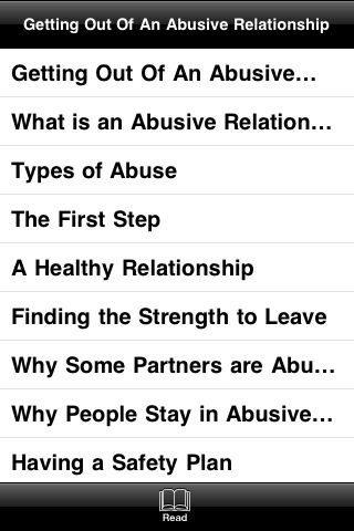 a detailed look into a relationship with an abusive boyfriend Domestic violence and abuse recognizing the signs of an abusive relationship and getting help español domestic violence and abuse can happen to anyone, yet the problem is often overlooked, excused, or denied.