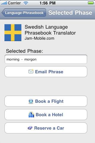 english swedish language translator phrasebook with 1700. Black Bedroom Furniture Sets. Home Design Ideas