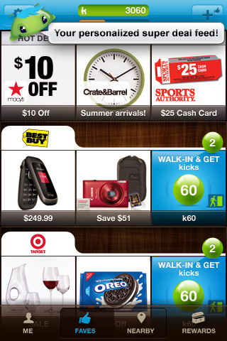 shopkick - Your Favorite Stores...Just Got Better!