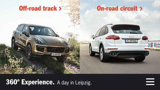 Porsche 360 Experience porsche cayenne