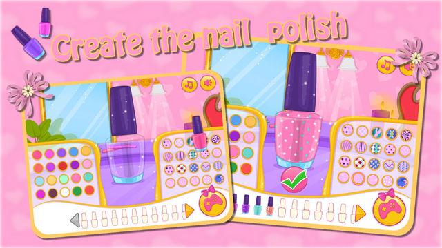Babi Prom Nails Designer dressing room design