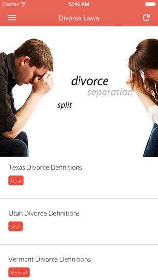 U.S. Divorce Law - Divorce Laws of the Fifty States, District of Columbia divorce busting