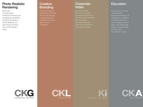 CKGroup architectural designs