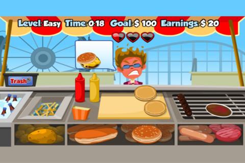 hotdog stand game