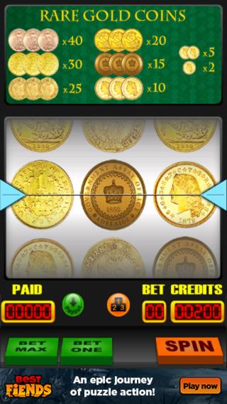 Rare Gold Coin Slots monaco rare coins