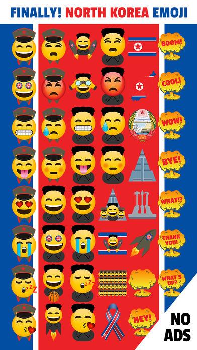 North Korea Emoji App north korea president