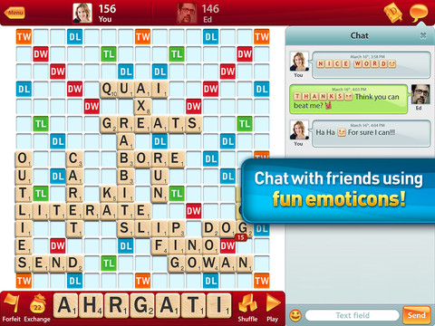 SCRABBLE Free HD for iPad