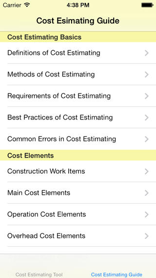 Cost Estimator`s Reference Guide and Cost Estimating Tool projector screens cost