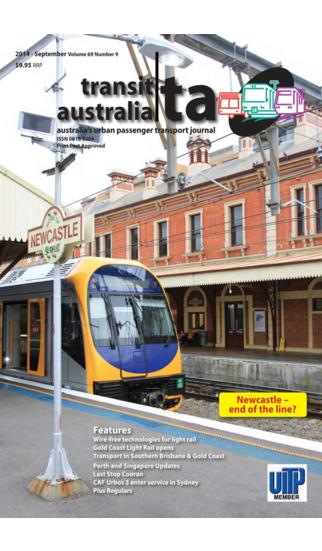 Transit Australia Magazine – Australia's Urban Passenger Transport Journal transport urban bucuresti