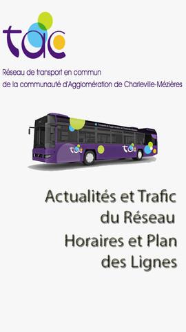 Bus TAC : Réseau de transport en commun de la communauté d'Agglomération de Charleville-Mézières