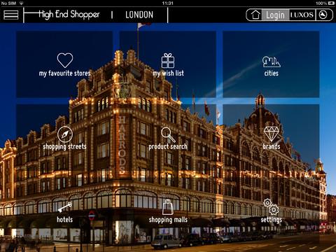 The High-End Shopper for iPad high end audio equipment