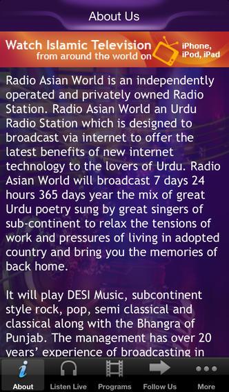Radio Asian World best asian music