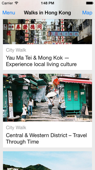 Walks In HongKong - Classic routes and navigation, Offline map, Travel guide hong kong traditional food