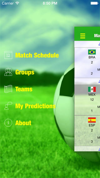 iSoccer Prediction Assistant 2014 soccer predictions