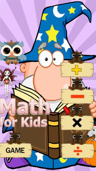 Fantasy town math kids English number practice education for kids preschool children development