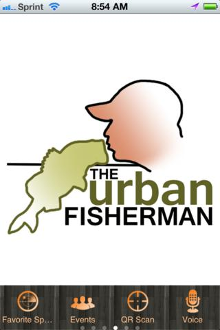 The Urban Fisherman lakes rivers streams