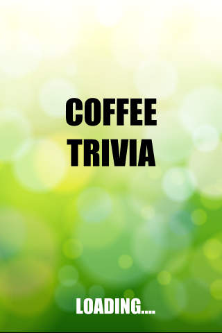 Coffee Trivia - The game for coffee lovers! coffee lovers