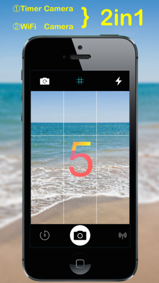 Self Timer Camera + Wifi camera 2in1 camera, the best selfie camera & remote camera camera reviews