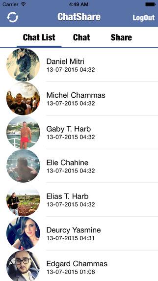 ChatShare for Facebook Messenger