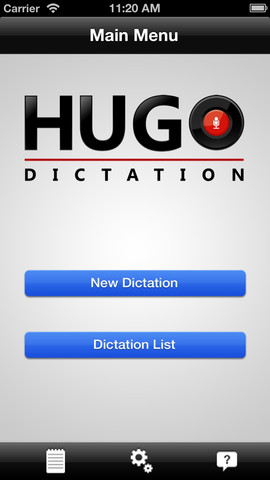 Hugo-Dictation Lite