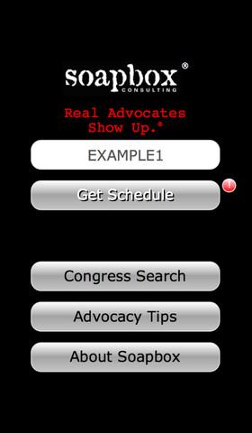 Soapbox Advocacy Day social advocacy topics