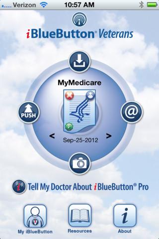 iBlueButton® Veterans veterans