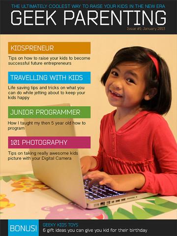 Geek Parenting Magazine