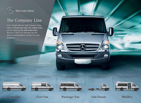 mercedes benz sprinter sale tool app for ipad iphone