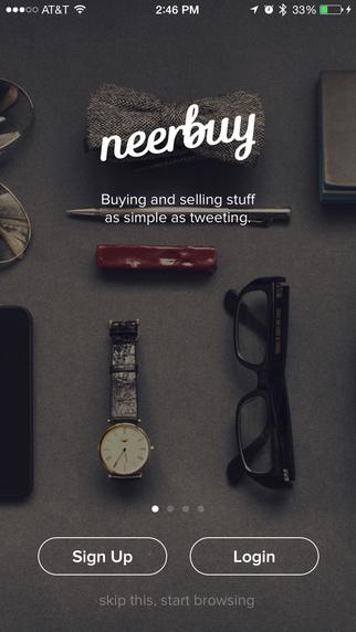 Neerbuy - Buy and sell stuff locally buy local used stuff