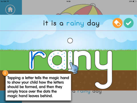 My Weather Book FREE Montessori Letter Tracing and Colouring Book book cataloging app